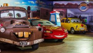 Presentación gratuita de los personajes de Cars   Abril 2018
