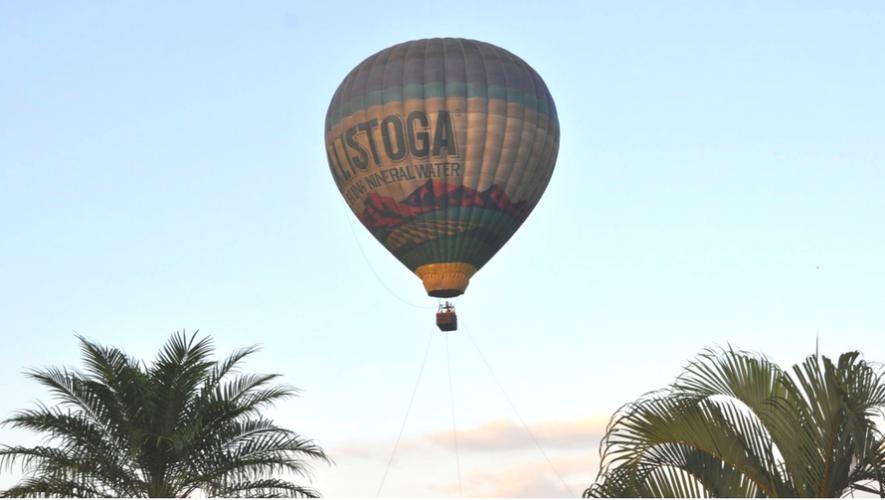 Globo aerostático en Monterrico | Diciembre 2017