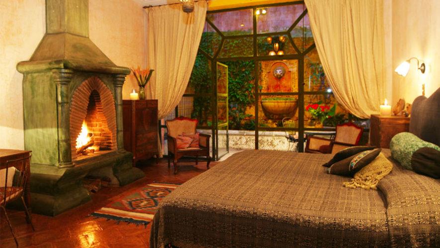 Hotel mes n panza verde lujoso hotel con chimenea r stica for Hoteles con chimenea