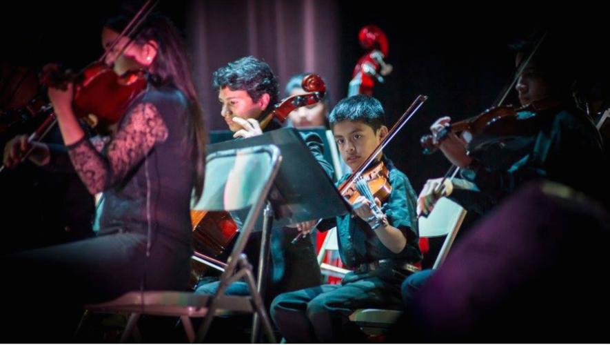 Concierto de Orquesta Infantil en 1001 Noches | Diciembre 2017