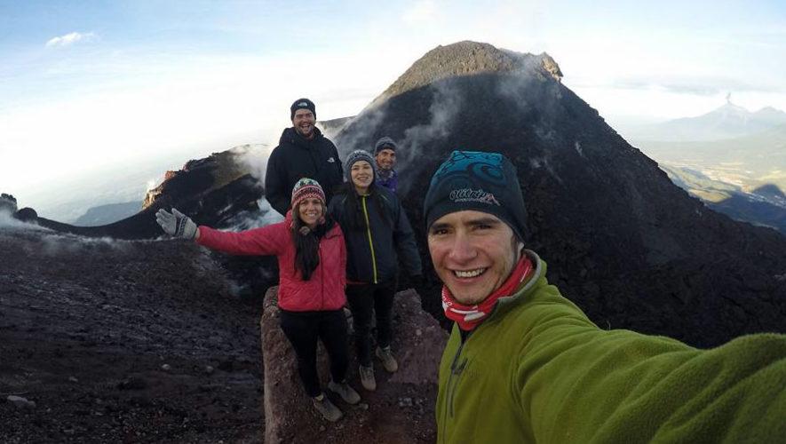 Ascenso de año nuevo al Volcán Pacaya | Enero 2018