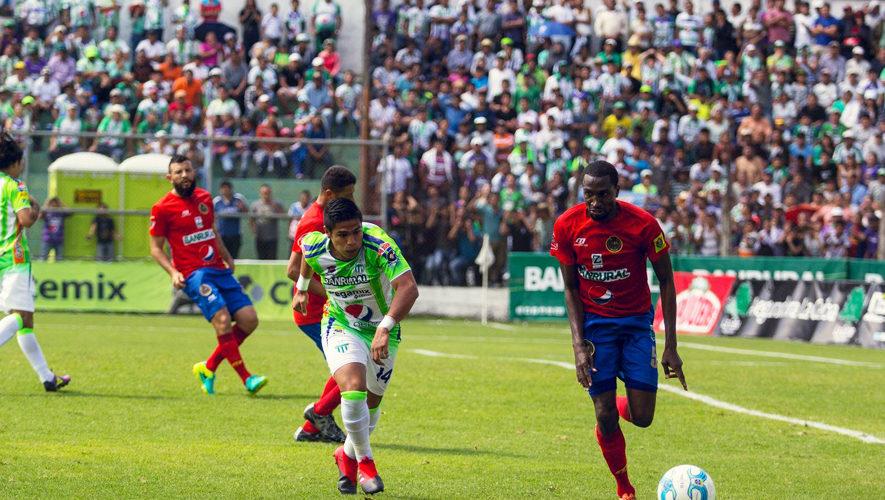 Partido de vuelta Antigua y Municipal por la final del Torneo Apertura | Diciembre 2017