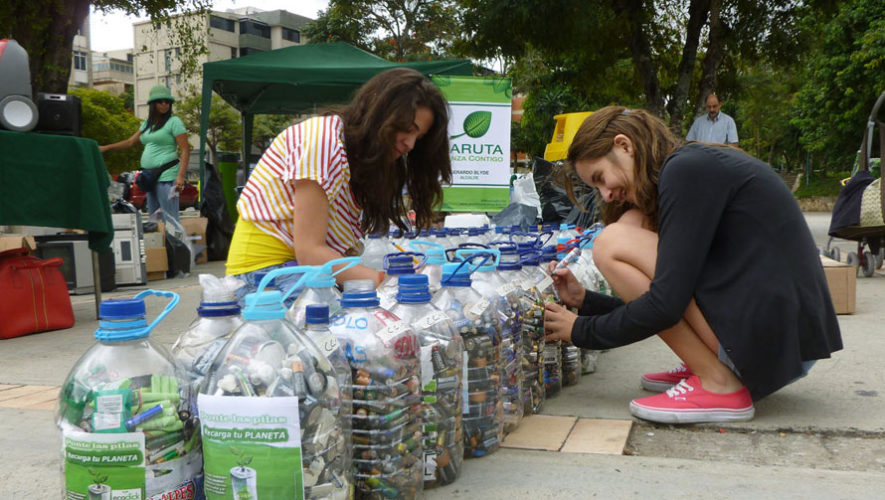 Jornada de reciclaje en Zona 4 | Diciembre 2017