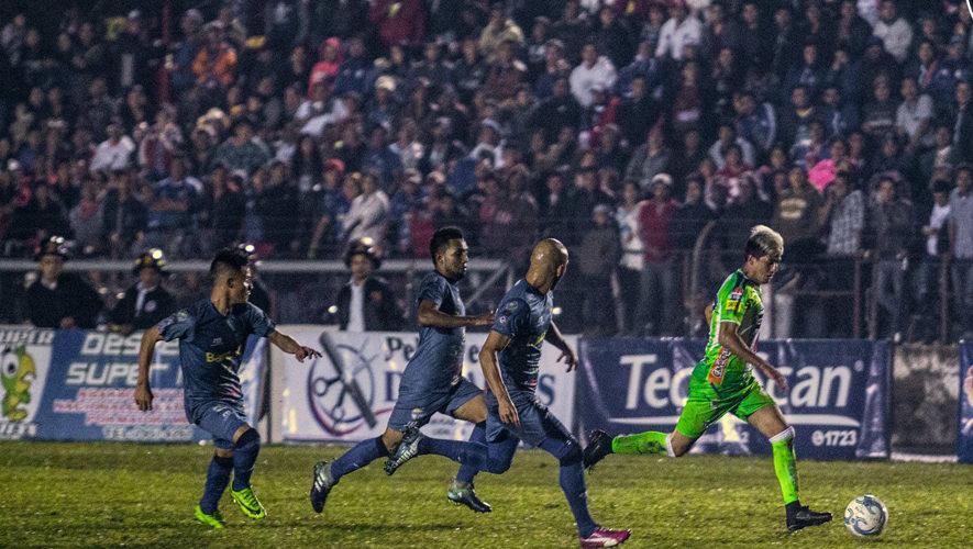 Partido de ida Cobán y Antigua por las semifinales del Torneo Apertura | Diciembre 2017