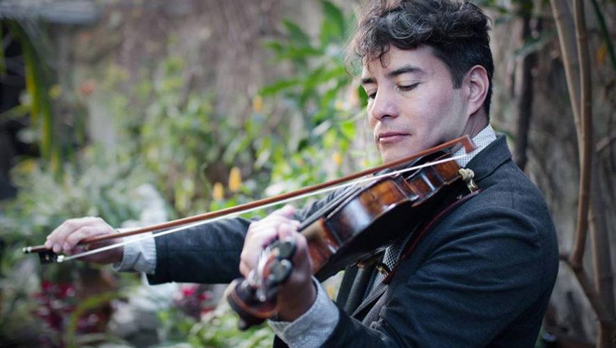 Concierto de violín y guitarra en La Chasah   Diciembre 2017