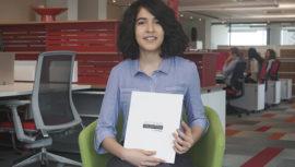 Andrea Garrido, joven guatemalteca consiguió trabajo con Programa Valentina