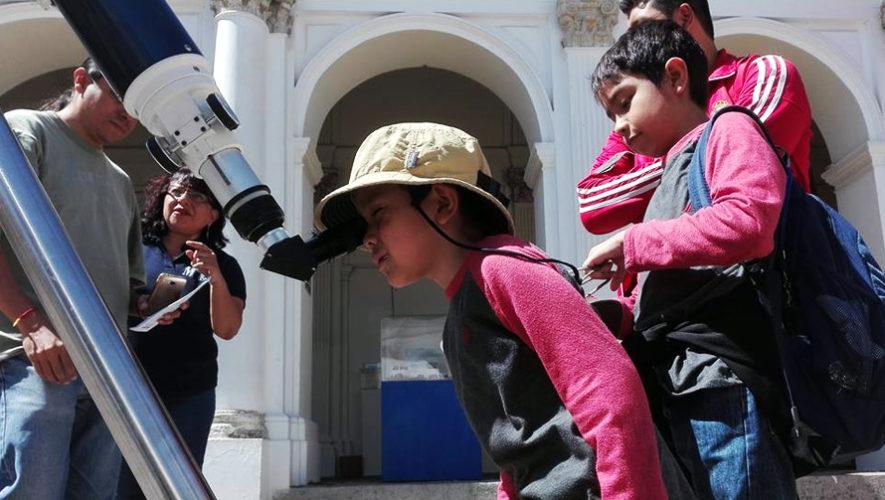 Celebración del Día del Asteroide en Guatemala | Julio 2018
