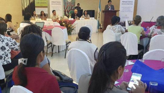 Congreso de Mujeres Empresarias Xincas y Mestizas fue inaugurado en Jutiapa