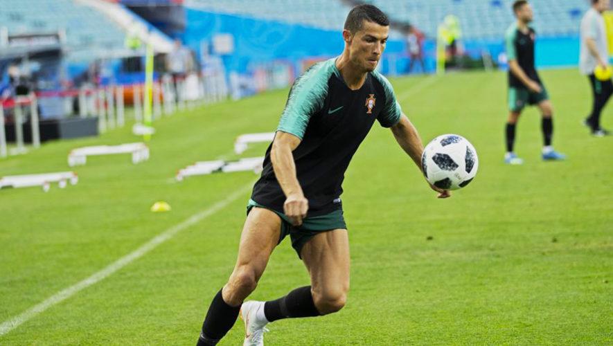 Entrenamiento Cristiano Ronaldo
