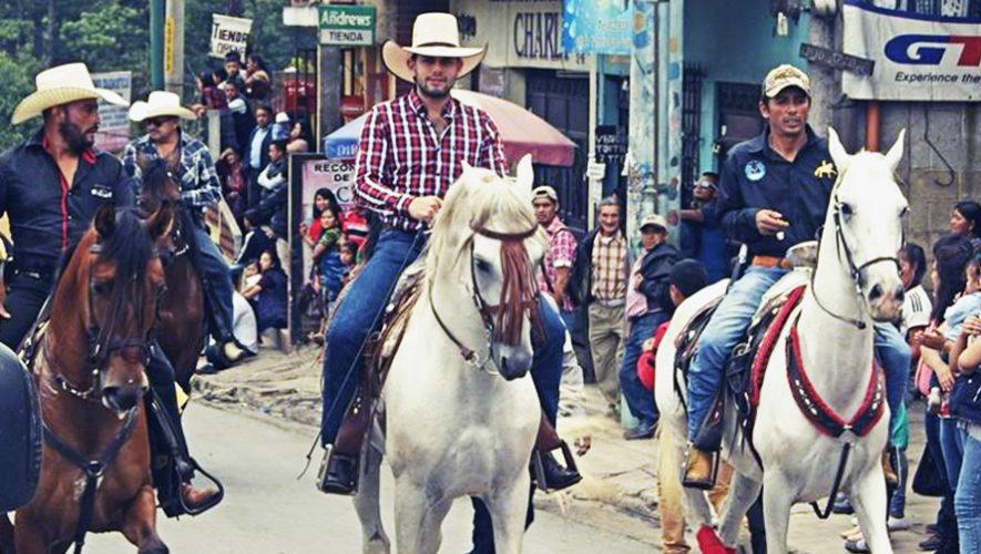 Desfile de caballos en Chimaltenango   Julio 2018