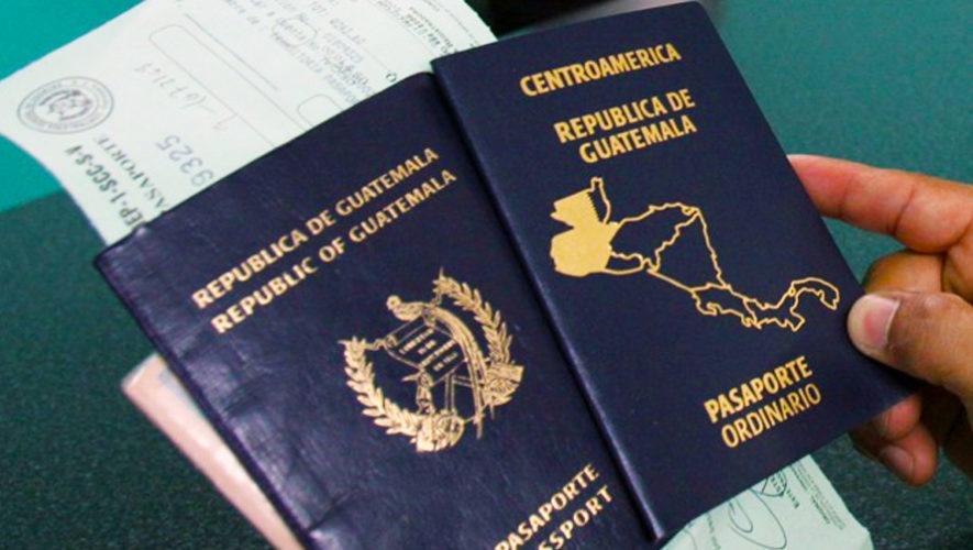 El pasaporte guatemalteco tiene un nuevo diseño