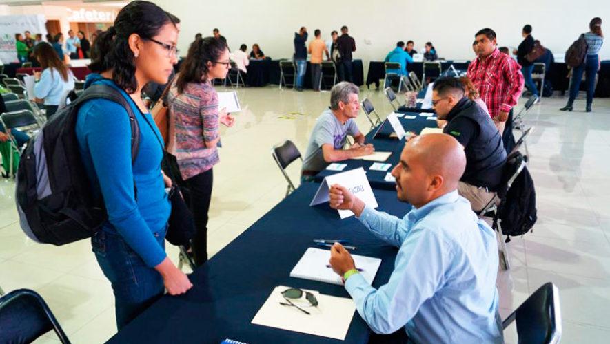 Feria de empleo para ONG internacionales en la Ciudad de Guatemala