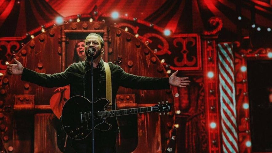 Ricardo Arjona anunció que dará tres conciertos en Guatemala