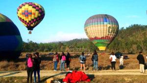 Viaje en globo aerostático a beneficio de los damnificados | Agosto 2018