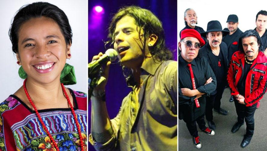 Concierto de Tavo Bárcenas, Sara Curruchich y otros artistas | Festival de Junio 2018
