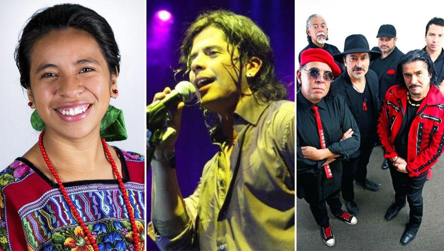 Concierto de Tavo Bárcenas, Sara Curruchich y otros artistas