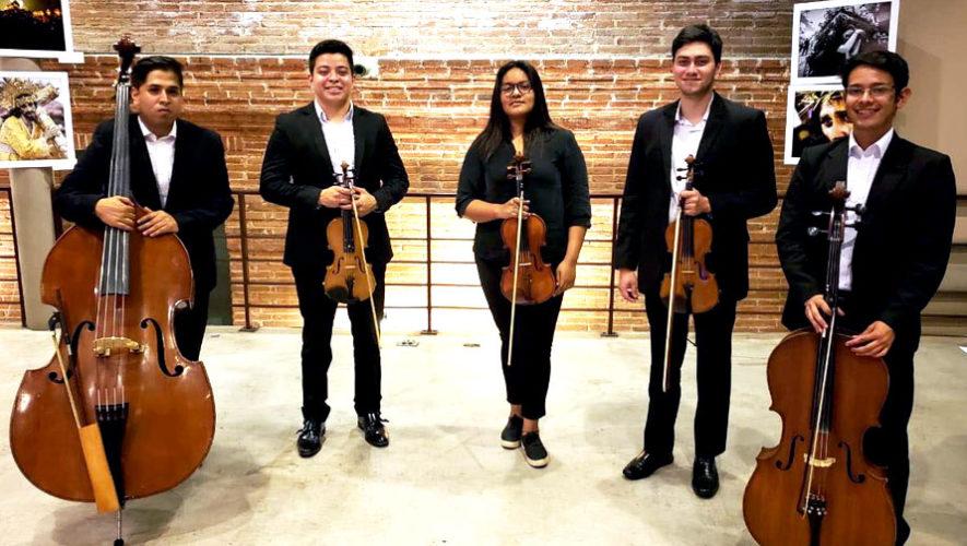 Concierto benéfico del Quinteto Strauss en Antigua   Junio 2018
