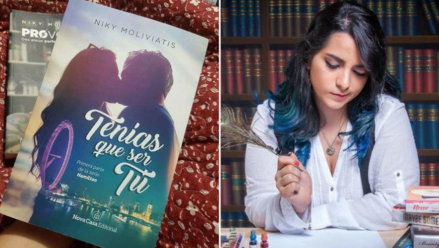Diálogo con la autora guatemalteca Niky Moliviatis | FILGUA 2018