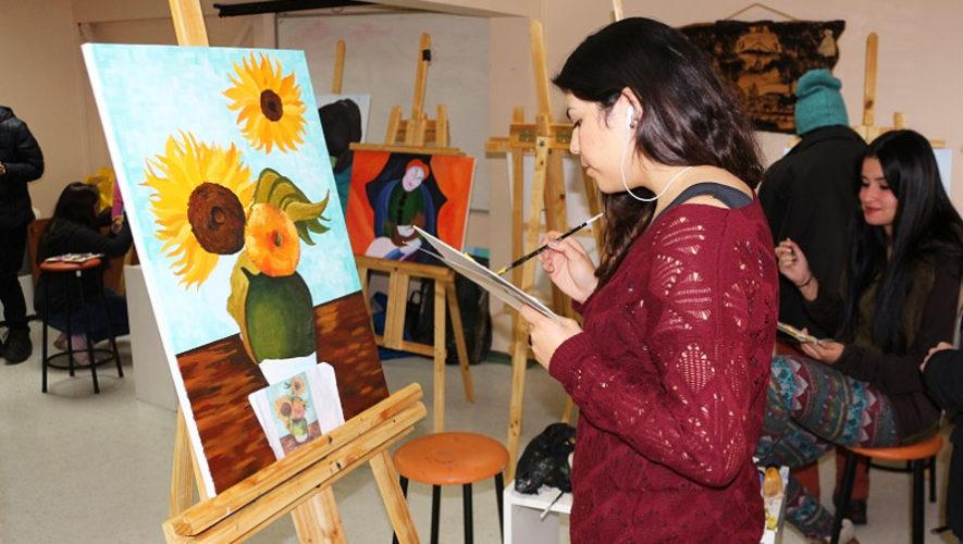 Taller gratuito de pintura en Mixco | Junio 2018