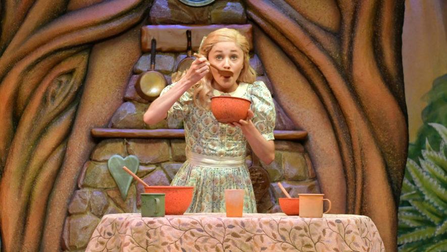 Ricitos de Oro, obra de teatro infantil en la UP   Junio 2018