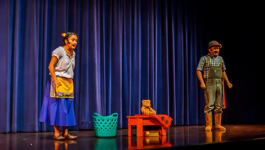 Función gratuita de teatro para niños en Guatemala   Junio 2018
