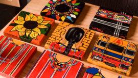 Xul, elabora espejos artesanales inspirados en la cultura de Chimaltenango