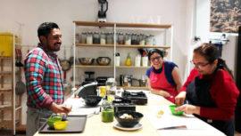 Curso de cocina básica saludable de AÇAI Culinary & Nutrition Studio   Julio 2018