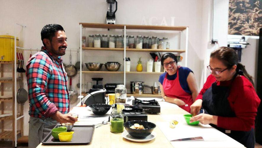 Curso de cocina básica saludable de AÇAI Culinary & Nutrition Studio | Julio 2018