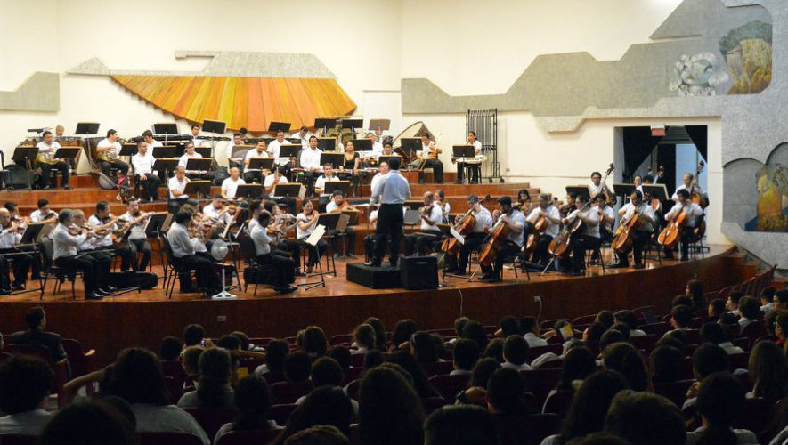 Presentación de la Orquesta Sinfónica Nacional de Guatemala | Festival de Junio 2018