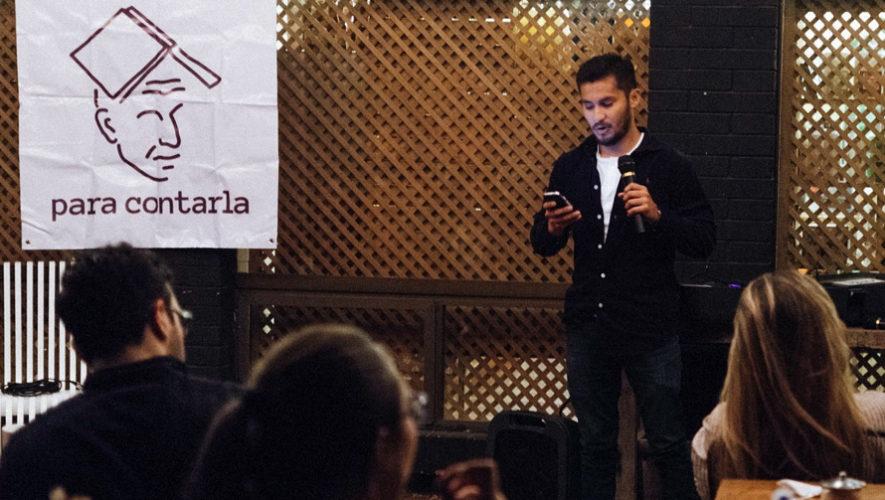 Noche de micrófono abierto para poetas en El Mercadito de Lola   Julio 2018