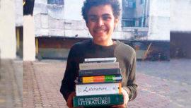 Alessandro Santos ganó una mención honorífica en Olimpiada de Matemática en Rumania