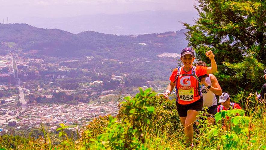 Ascenso Las Nubes: Carrera de Montaña en San Bartolomé Milpas Altas   Agosto 2018