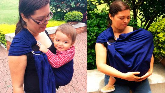 Bebé Abracitos, cargadores ergonómicos para bebés en Guatemala