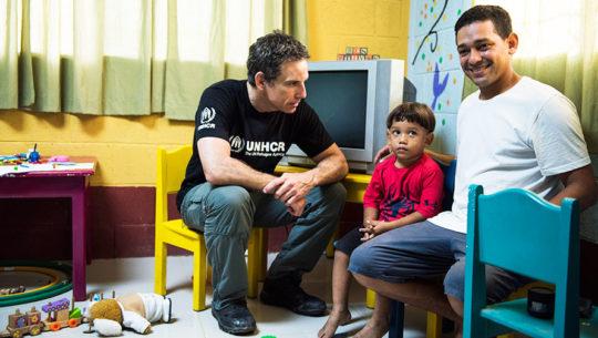 Ben Stiller visitó a familias guatemaltecas por una noble causa