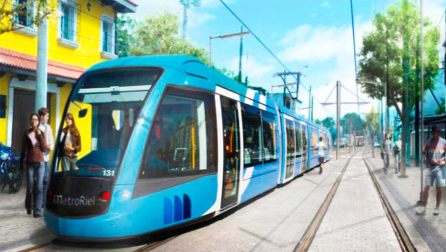 Buscan habilitar el primer Metro Riel en la Ciudad de Guatemala