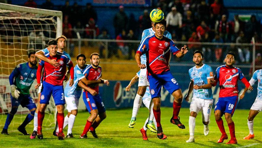 Calendario del Torneo Apertura 2018 de la Liga Nacional de Guatemala
