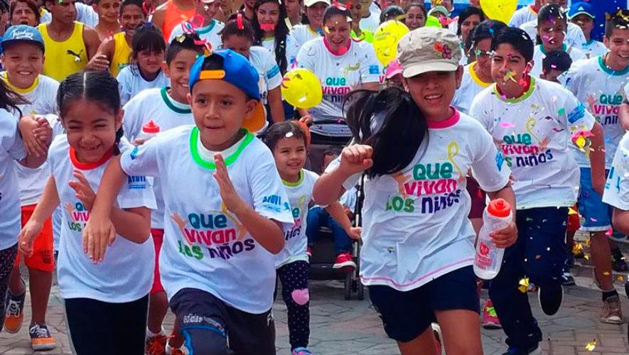 Carrera 5K ¡Que Vivan los Niños! en Agua Blanca   Julio 2018
