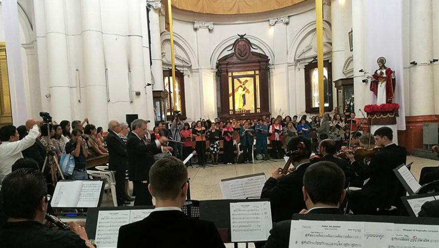 Celebración de los 205 años de fundación de la Filarmónica de Guatemala | Julio 2018