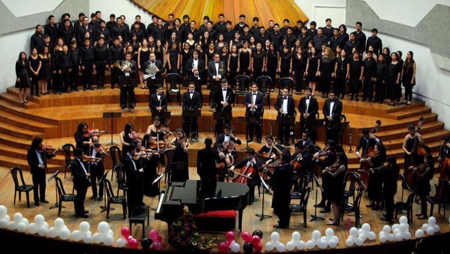 Actividades por el 143 aniversario del Conservatorio Nacional de Música   Agosto 2018