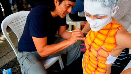 Convocatoria de modelos y artistas para el Festival Nacional de Body Paint 2018