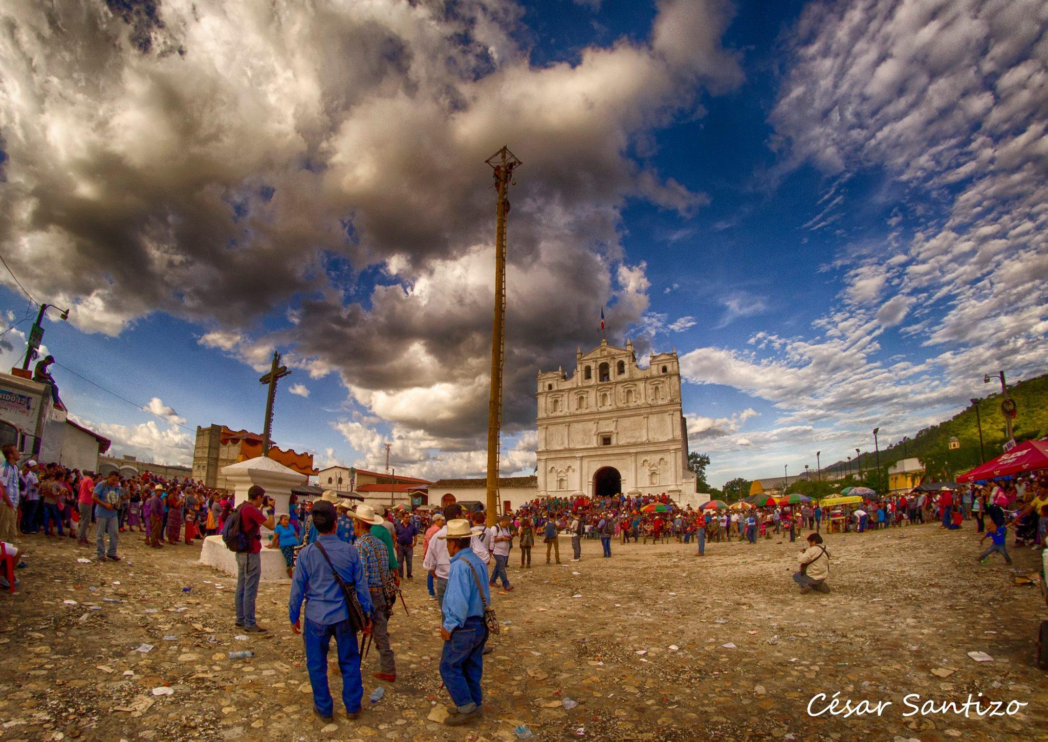 Danza del Palo Volador en Cubulco, Baja Verapaz
