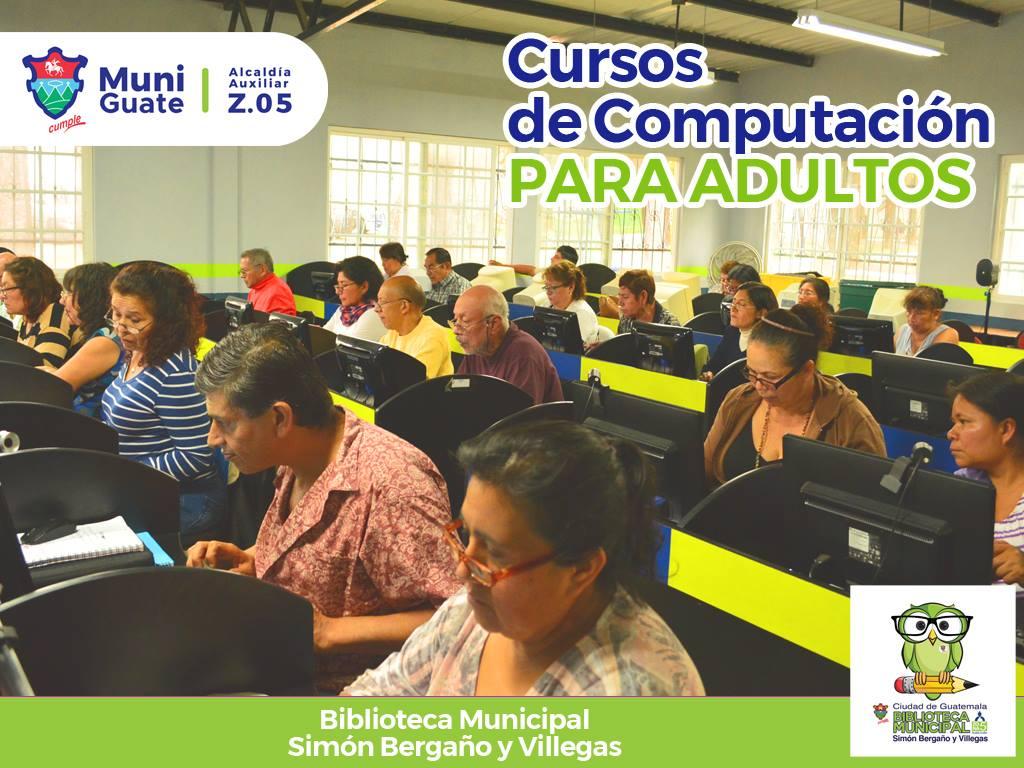 Cursos de computación gratuitos para adultos en la Ciudad de ...
