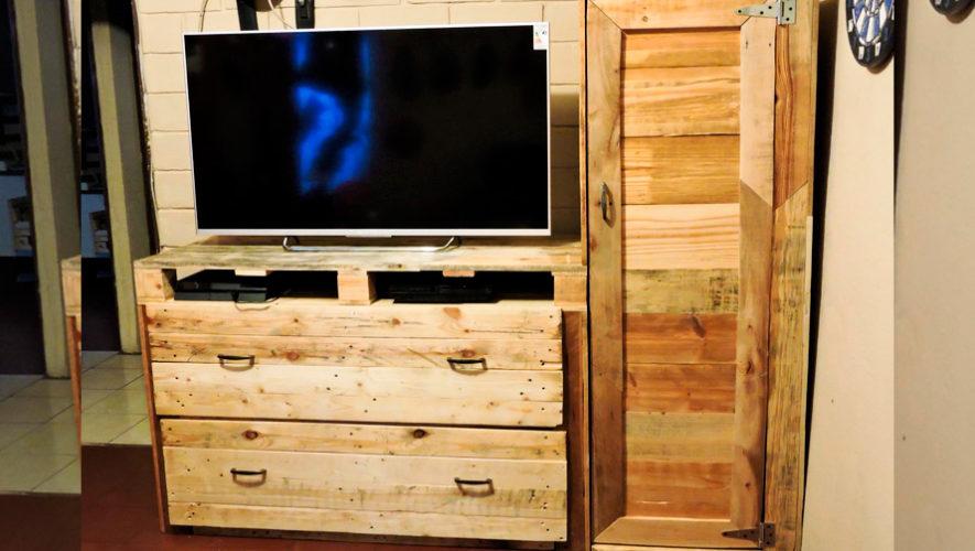DecoPalets, muebles ecológicos elaborados con palets recicladas