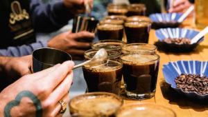 Degustación de café en la Ciudad de Guatemala   Julio 2018