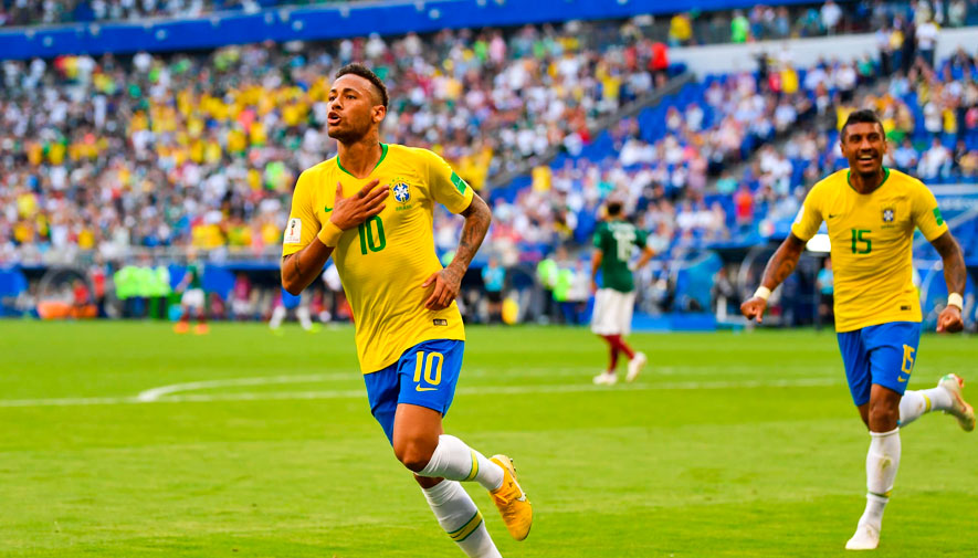 Fecha y hora en Guatemala: Cuartos de final Brasil vs. Bélgica, Copa Mundial de la FIFA™