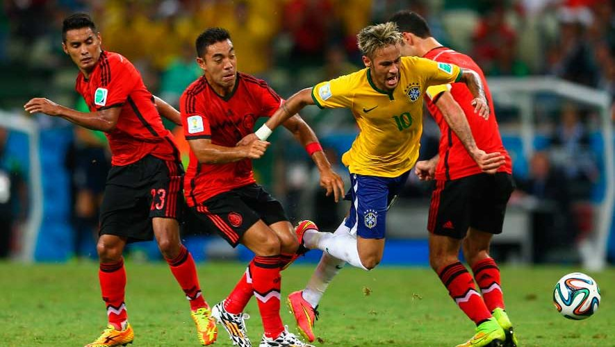 Resultado de imagen para brasil vs mexico