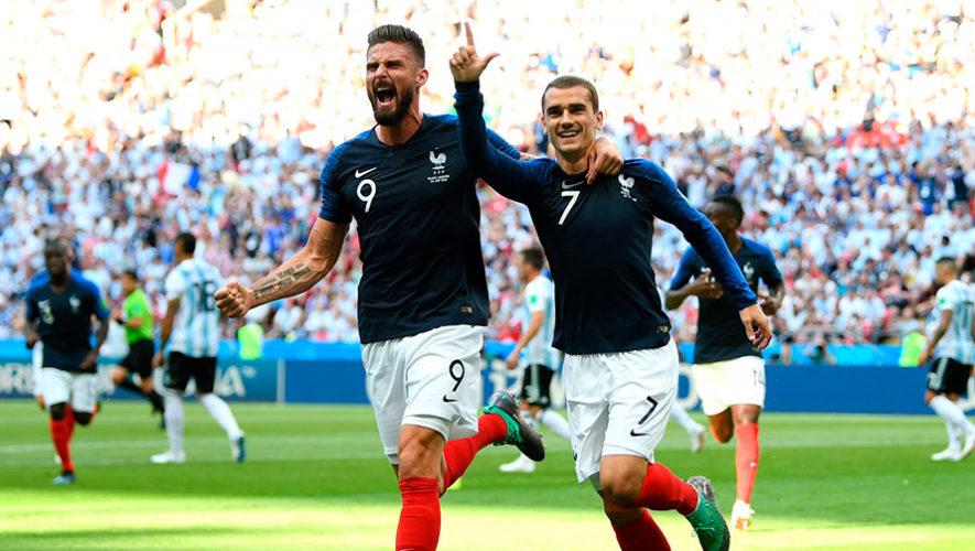 Fecha y hora en Guatemala semifinales Francia vs. Bélgica, Copa Mundial de la FIFA