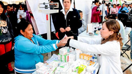 Feria de la Salud gratuita 2018 en la USAC, Ciudad de Guatemala