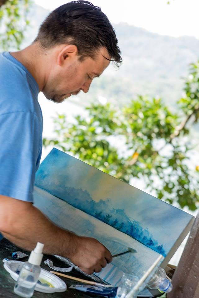 Festival de Pintura en Alta Verapaz