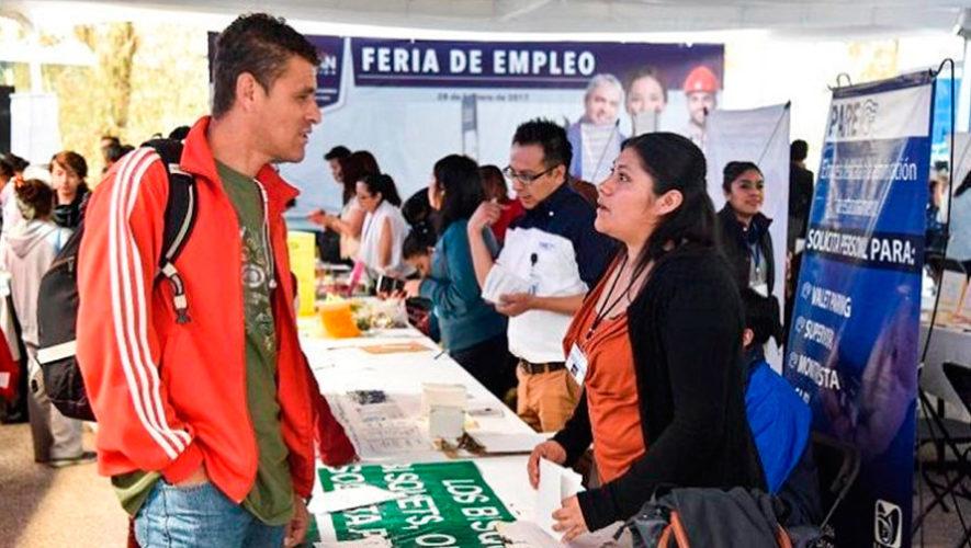 Festival del Empleo en la Ciudad de Guatemala, 2018
